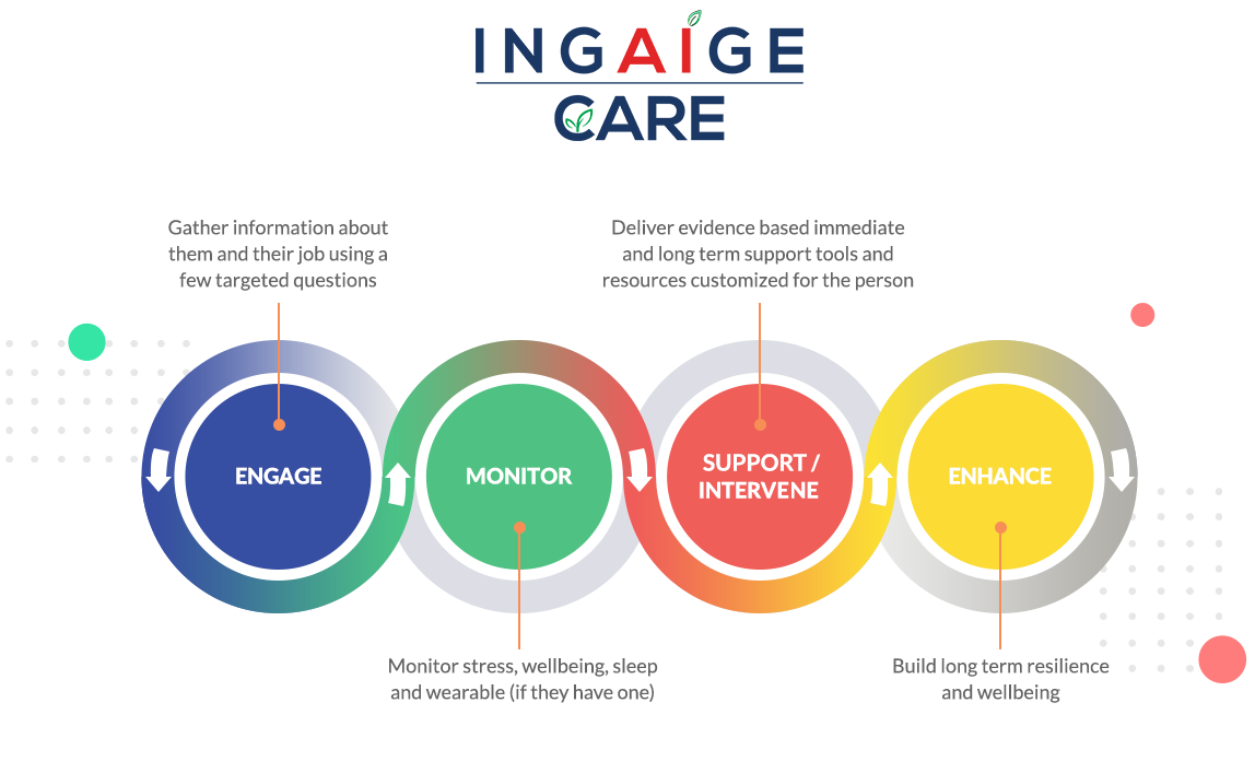 IngAIge Care infographic with text description below